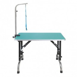 ADJUSTABLE FOLDING TABLE 91 X 60 CM FOR DOGS AND CATS GROOMING -MZ91JV-AGC-CREATION