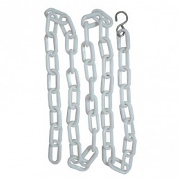 Plastic chain - 1.50 m - with hook -M626 -AGC CREATION