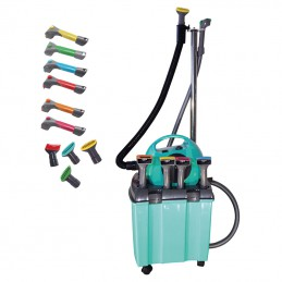 Grooming station kit - BTS2400 Turquoise with stand support for hose -M928 -AGC CREATION