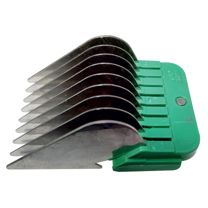 STAINLESS STEEL COMB GUIDES - USABLE WITH 9-2 mm AND 10-1,5 mm BLADE - 22 mm -T025-22 -AGC CREATION