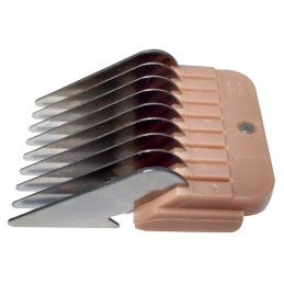 STAINLESS STEEL COMB GUIDES - USABLE WITH 9-2 mm AND 10-1,5 mm BLADE - 13 mm -T025-13 -AGC CREATION