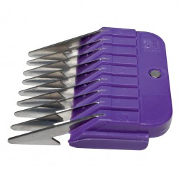 STAINLESS STEEL COMB GUIDES - USABLE WITH 9-2 mm AND 10-1,5 mm BLADE - 6 mm -T025-6-AGC-CREATION