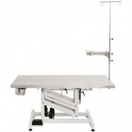 Electric operating table, top in stainless steel - foot control -MOT120A-AGC-CREATION