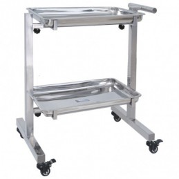 Veterinary stainless steel trolley -MTT70B-AGC-CREATION
