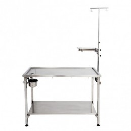 Veterinary inox table -MTT120A-AGC-CREATION