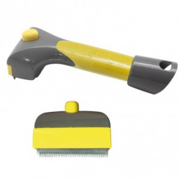 Eject grooming trimmer short hair SOFT - 3,5 mm teeth - adaptable to Grooming station -M918-AGC-CREATION