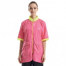 PINK ZIPPED JACKET -GA-050504-AGC-CREATION