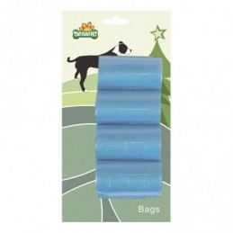 SET OF 4 ROLLS OF 20 POOP COLLECTION BAGS -ARY0114A-AGC-CREATION