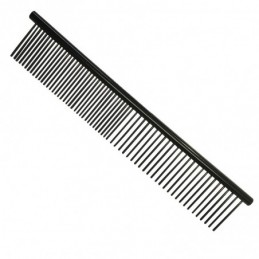 Double fine and medium metal comb 16 cm -P038-AGC-CREATION