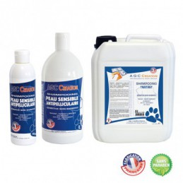 AGC CREATION special sensitive skin and anti-dandruff shampoo for dog grooming -C925-AGC-CREATION