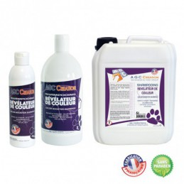 AGC CREATION color revealing shampoo for dog grooming -C929-AGC-CREATION