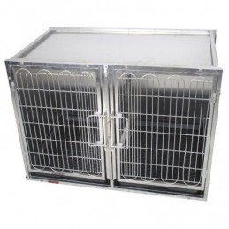 Stainless steel guard cages Size S -PC-101S-AGC-CREATION