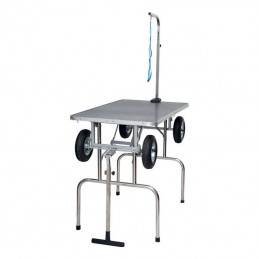 EVOLUTECH 100 -folding table for groomers - 2 colors 2 heights to choose