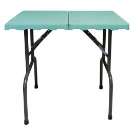 EVOLUTECH 100 -adjustable table for groomers - turquoise