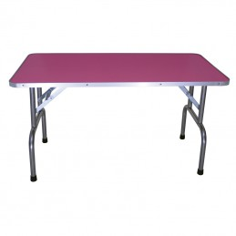 WOODEN FOLDING TABLE 120 X 60 CM HEIGHT 85 cm -M122B-AGC-CREATION