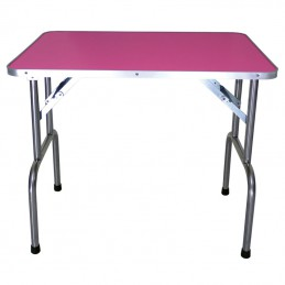 EVOLUTECH 100 - electric adjustable table for groomers - fushia