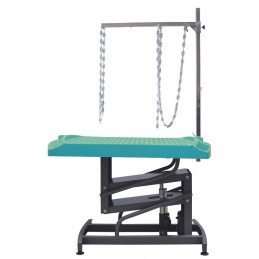EVOLUTECH 130 -adjustable table for groomers - Turquoise