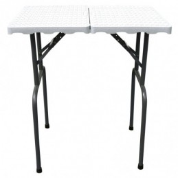 Table pliante 49x79cm Pieds 85cm -M808-AGC-CREATION