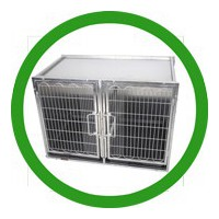 All stainless steel guard cages